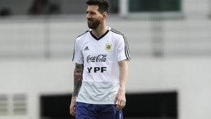 Messi sorride: la sua Argentina vuole la semifinale