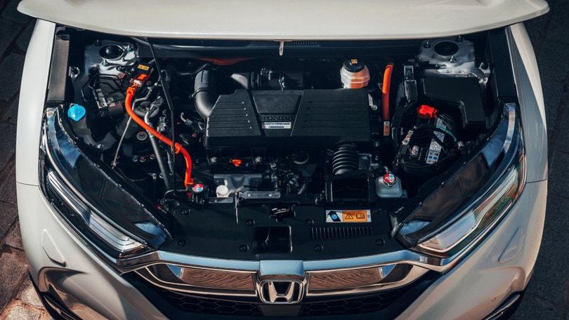 Honda CR-V Hybrid, come funziona l'ibrido