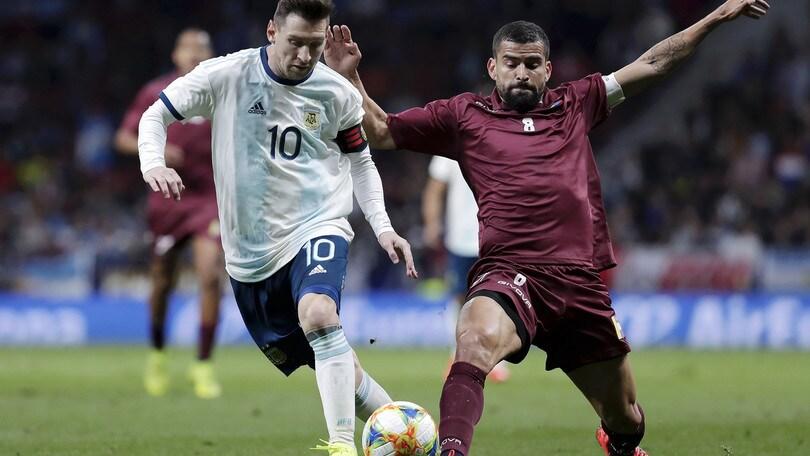 Coppa America, diretta Venezuela-Argentina ore 21: probabili formazioni e come vederla in tv