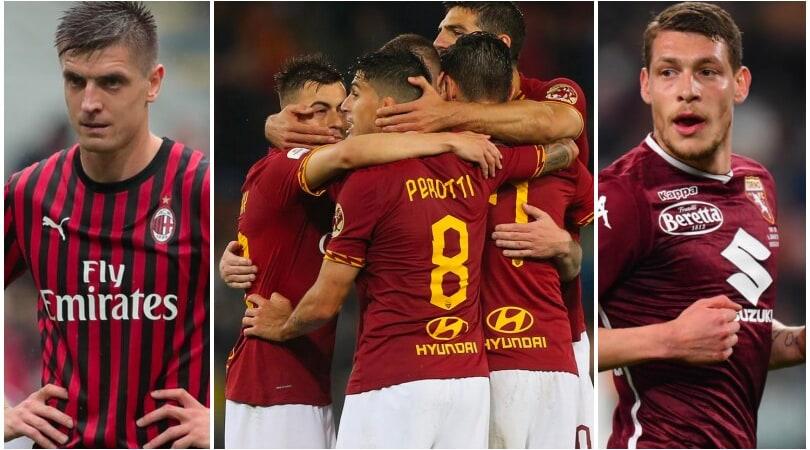 Ufficiale: Milan escluso dall'Europa League. Roma ai gironi, Torino ai preliminari