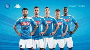 Napoli, ecco la nuova maglia per la prossima stagione