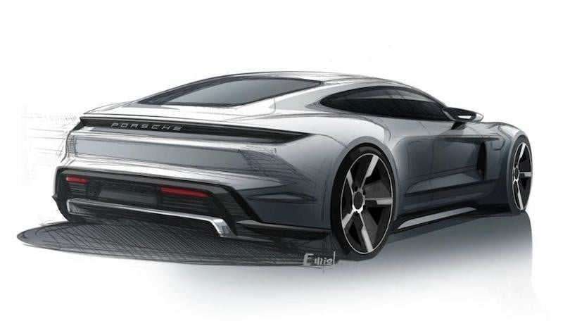 Porsche Taycan, l'elettrica arriverà a settembre