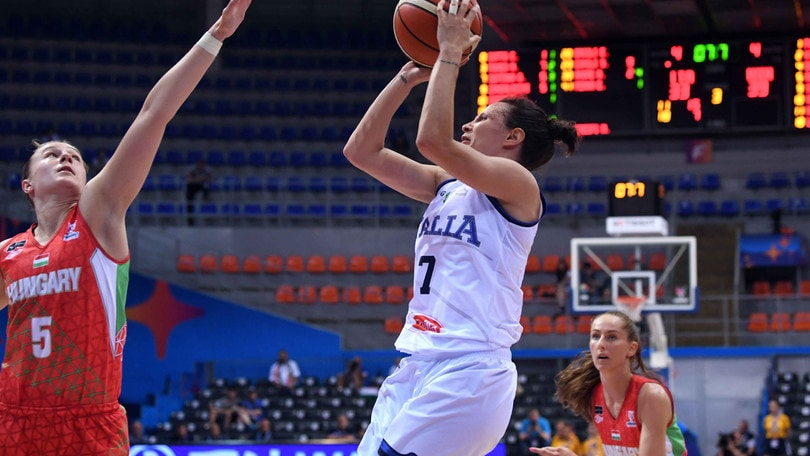 Basket, Europei donne: Italia ko contro l'Ungheria