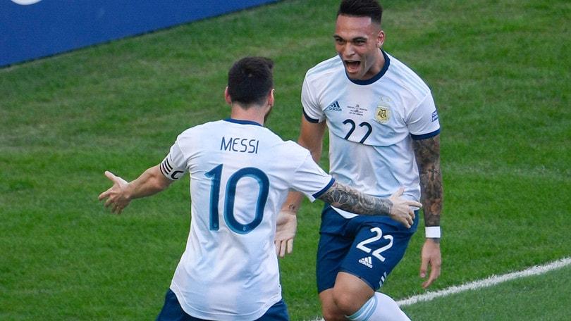 Coppa America, Brasile-Argentina in semifinale: Lautaro (di tacco) stende il Venezuela