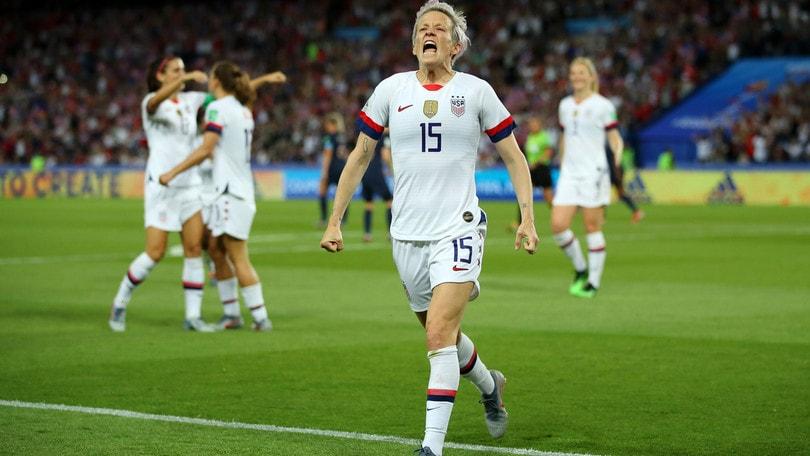 Mondiali Femminili: la Rapinoe regala le semifinali agli Stati Uniti