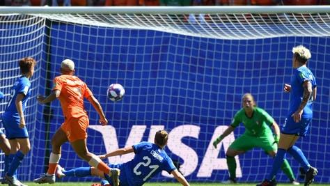 Mondiali femminili: l'Italia si arrende all'OIanda, azzurre eliminate
