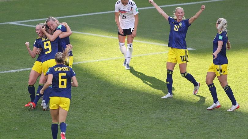 Mondiali femminili, la Svezia supera la Germania. In semifinale sfiderà l'Olanda