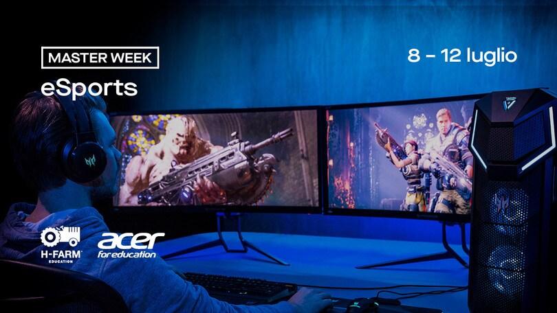 H-Farm e Acer insieme: presentata la Master Week dedicata agli esport