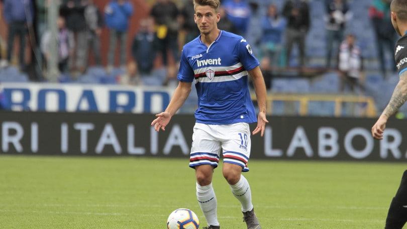 Sampdoria, i convocati per il ritiro. C'è anche Praet
