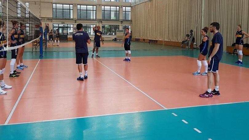 La nazionale femminile a Nanchino per la Final Six