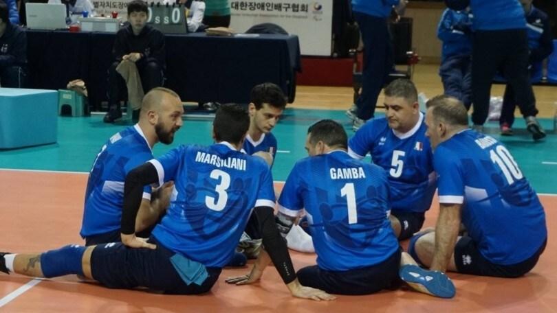 Le nazionali di sitting volley in raduno congiunto a Pisa