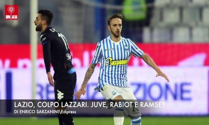 Lazio, colpo Lazzari. Juve, Rabiot e Ramsey