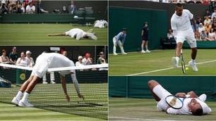 Kyrgios, show a Wimbledon contro Thompson