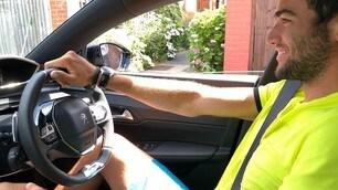 Berrettini al volante della Nuova Peugeot 508 SW - LE FOTO