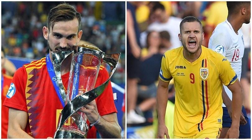 Europei U21, Fabian Ruiz e Puscas nel Top 11 dell'Uefa. Italia a secco