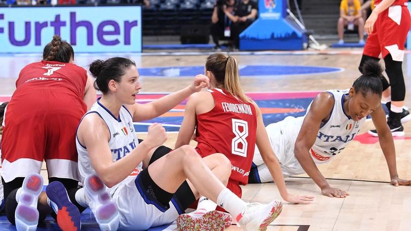 Basket, Europei donne: Italia eliminata dalla Russia