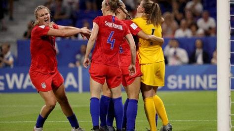 Mondiali femminili, gli Stati Uniti battono l'Inghilterra e volano in finale