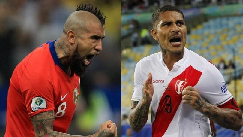 Coppa America, diretta Cile-Perù ore 2.30: probabili formazioni e dove vederla in tv