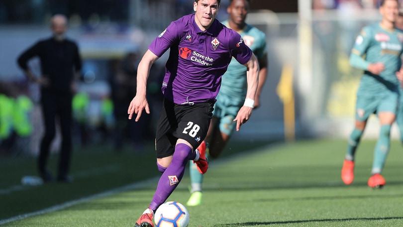 Fiorentina, Vlahovic è un talento da far crescere in A
