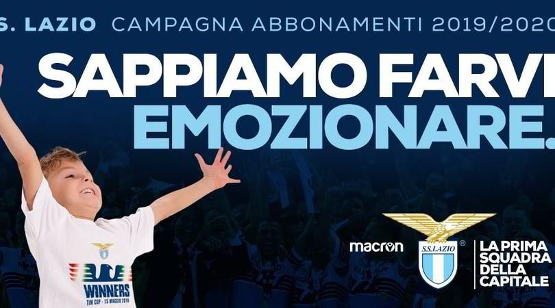 Lazio, parte la campagna abbonamenti: il video emoziona il web