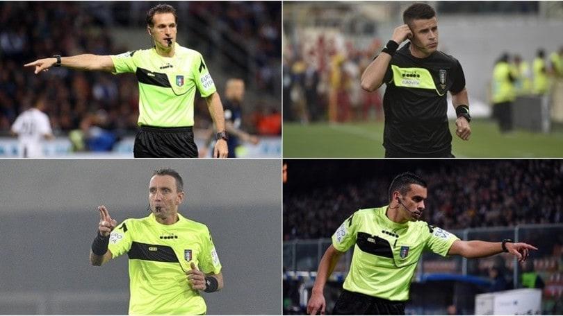 Banti e Mazzoleni salutano la Serie A. Arrivano Giua e Piccinini
