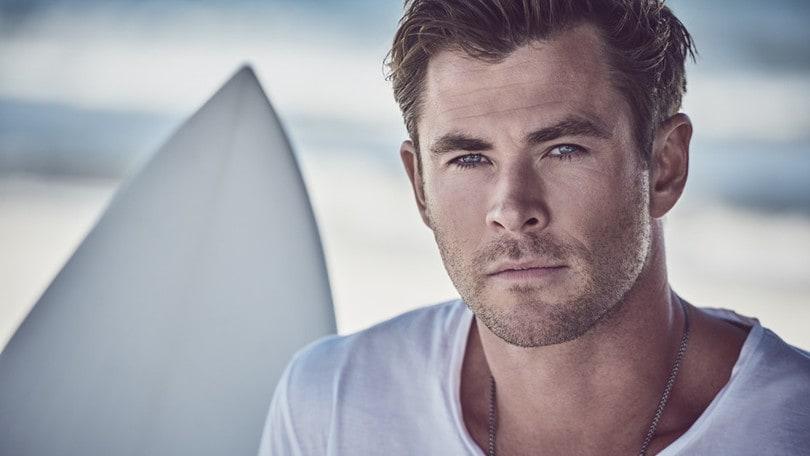 È Chris Hemsworth l'uomo di oggi