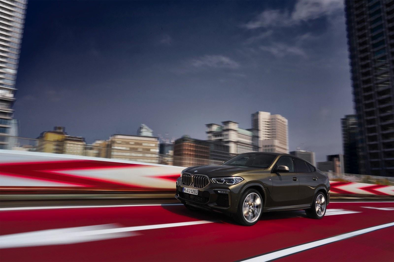 BMW X6 terza generazione: le foto