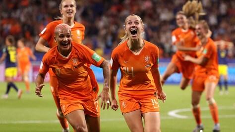 Mondiali femminili, l'Olanda batte la Svezia e si prende la finale con gli Stati Uniti