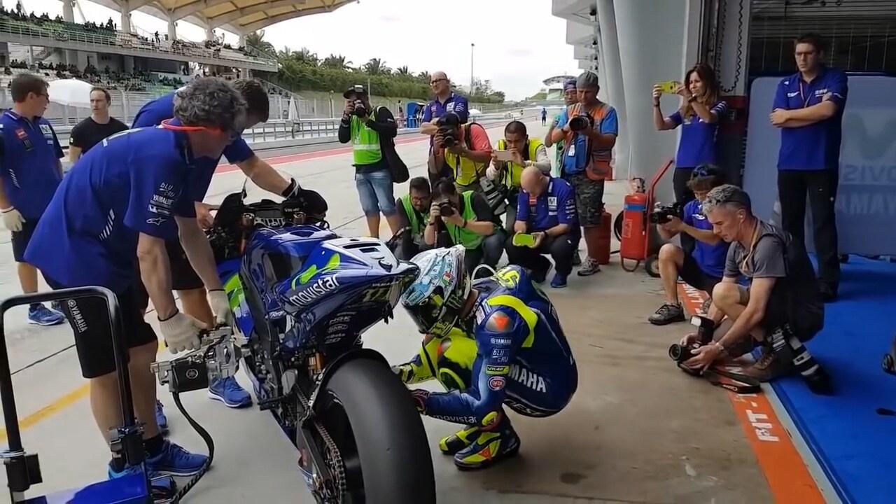 MotoGp, Yamaha rinnova fiducia a Rossi
