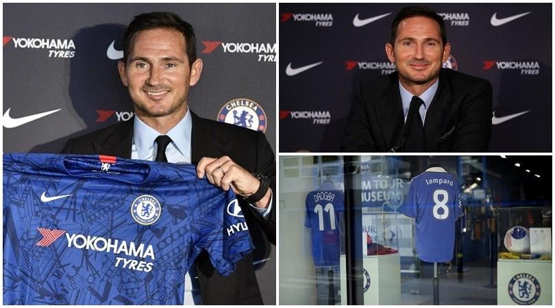 Lampard torna al Chelsea cinque anni dopo l'addio