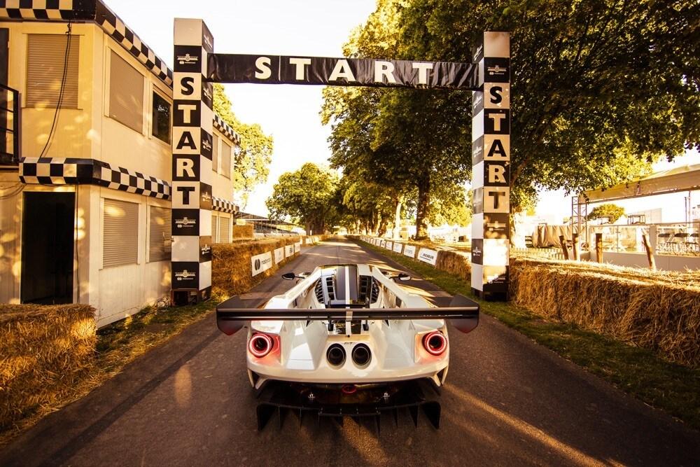 Ford GT MK II Track: gli scatti