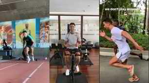 Juve, Ronaldo si allena anche in vacanza