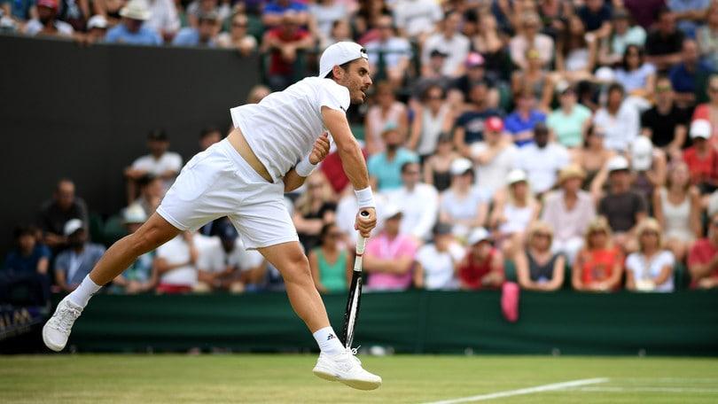 Fabbiano saluta Wimbledon: agli ottavi va Verdasco