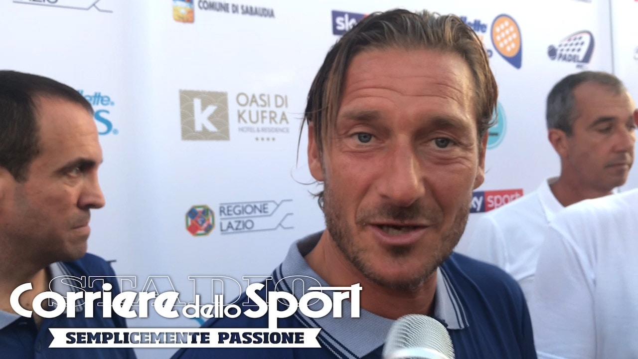 """Totti: """"La Roma adesso non mi manca. Non torno indietro"""""""