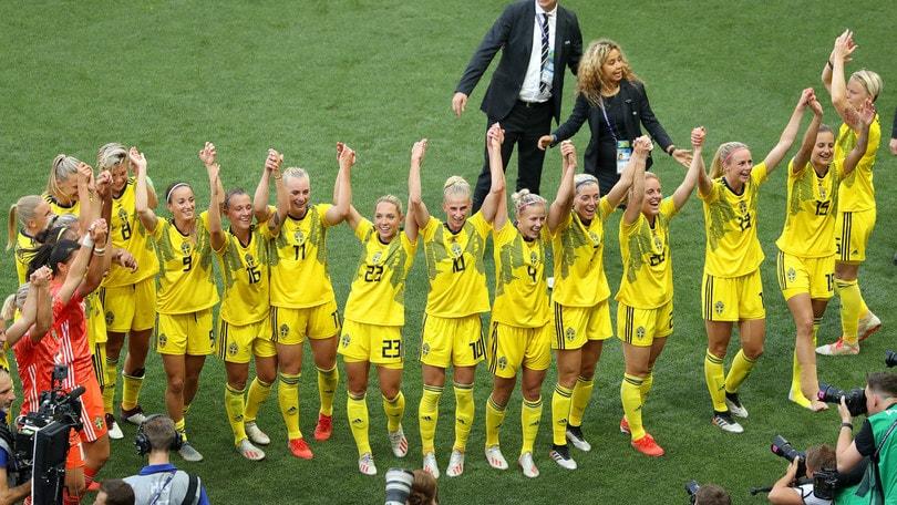Mondiali femminili, Svezia sul podio: batte 2-1 l'Inghilterra ed è terza