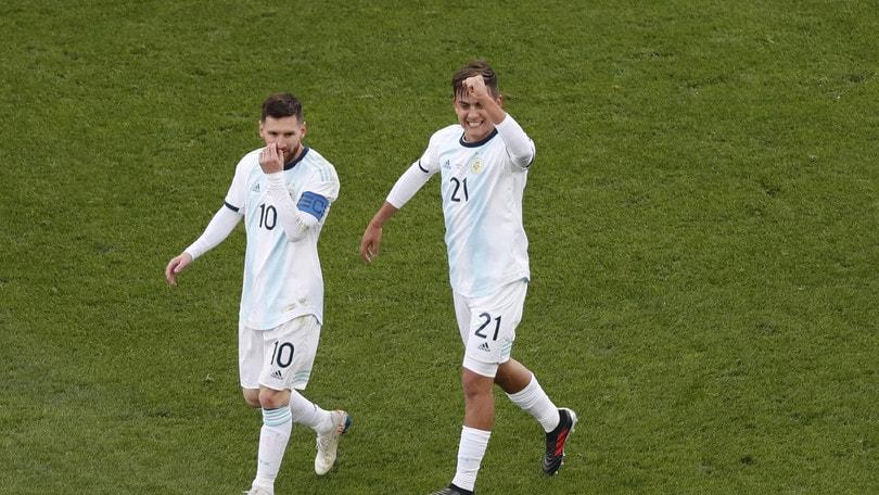 Coppa America, l'Argentina chiude al terzo posto