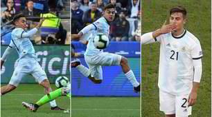 Dybala, magia con l'Argentina: scavetto al Cile