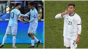 Coppa America: bronzo all'Argentina, piegato il Cile. Dybala protagonista