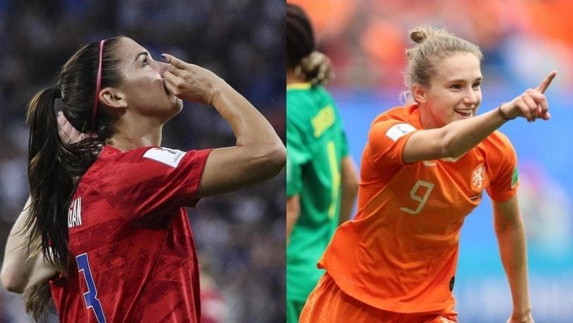 Mondiali femminili, diretta Usa-Olanda ore 17: probabili formazioni e dove vederla in tv