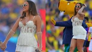 Coppa America, Anitta show prima della finale
