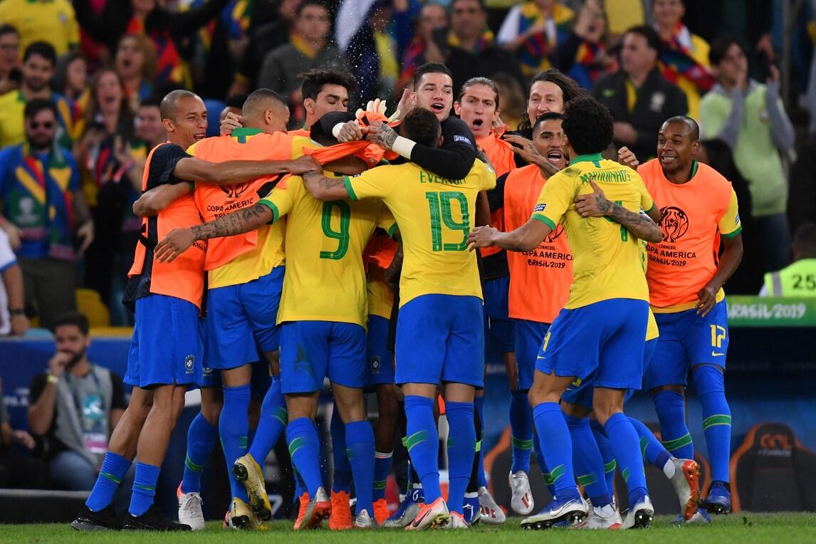 Risultati immagini per brasile vittoria copa america