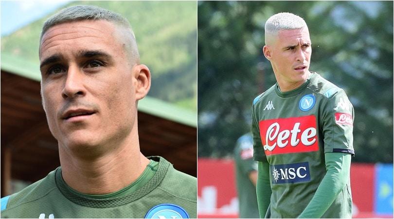 Napoli, sorpresa Callejon sul campo di Dimaro: nuovo look grigio!