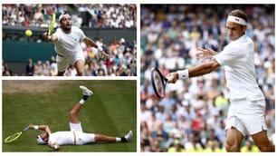 Wimbledon, Berrettini che lezione da Federer!