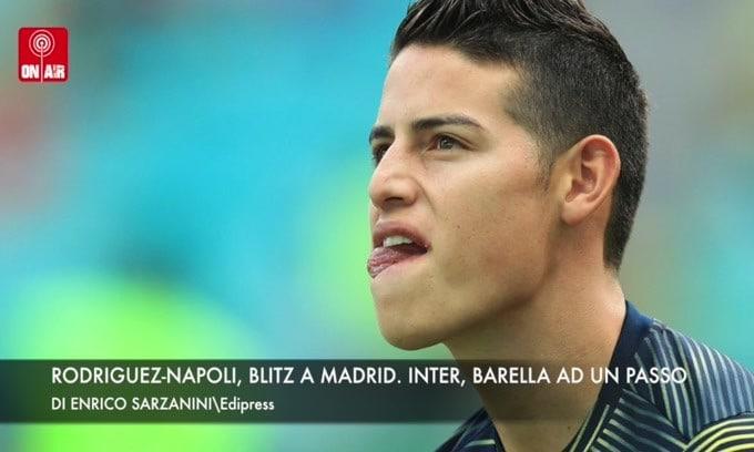 Rodriguez-Napoli, blitz a Madrid. Barella, Inter ad un passo