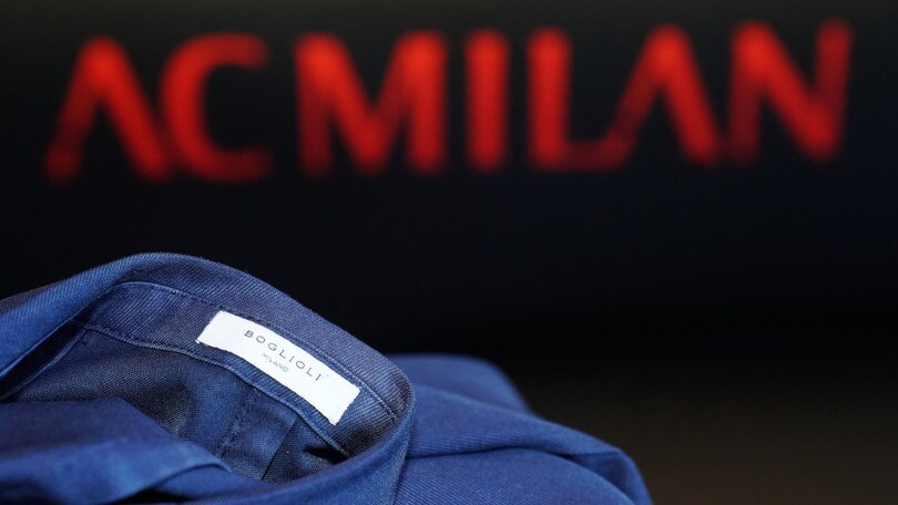 Boglioli diventa style partner di AC Milan