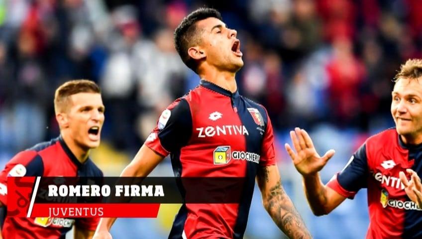Juventus, Romero firma e va in prestito