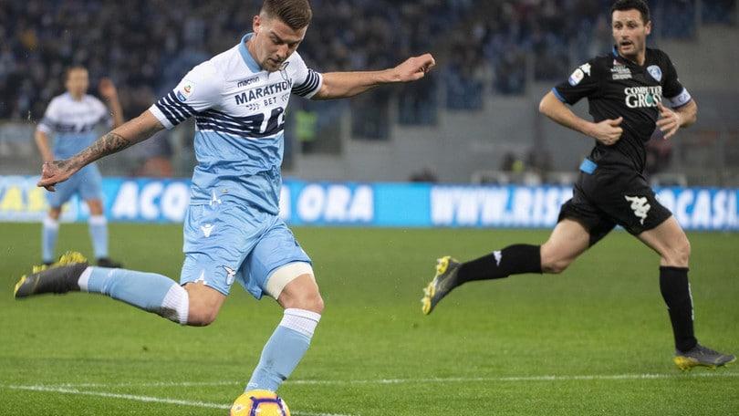 Milinkovic ritorna a Roma, la Lazio scalpita
