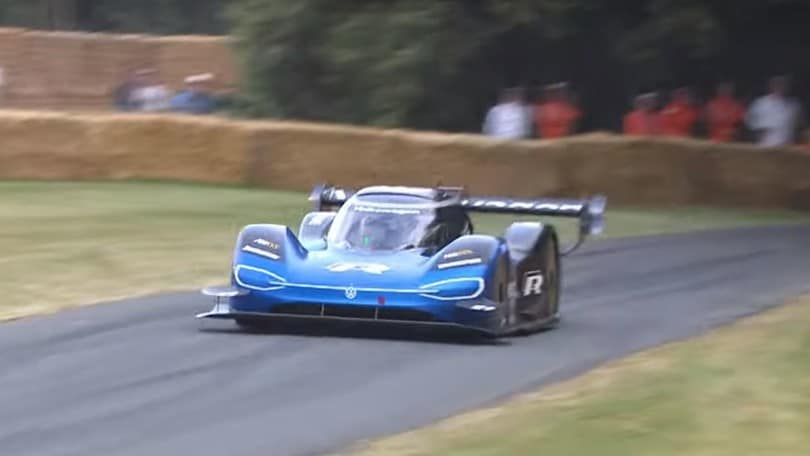 Volkswagen ID.R, record anche a Goodwood