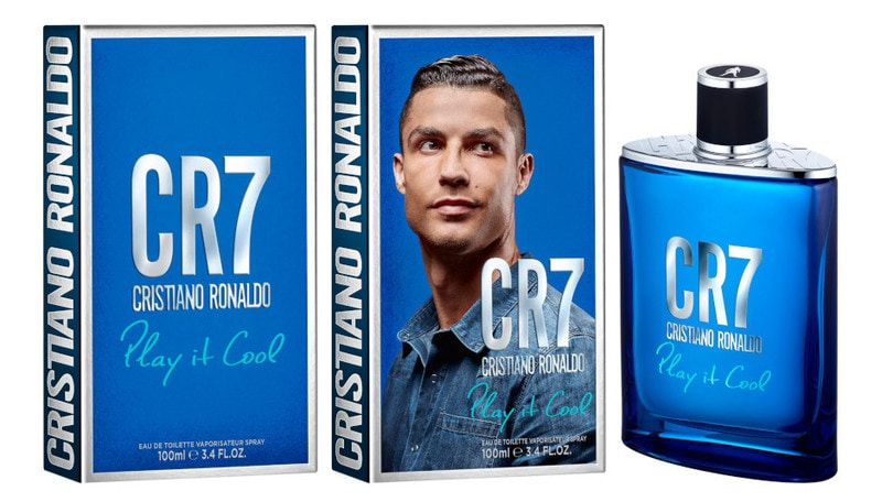 Play It Cool è la nuova fragranza di Cristiano Ronaldo