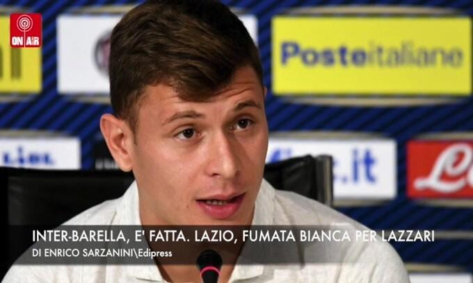 Inter-Barella, è fatta. Lazio, fumata bianca per Lazzari